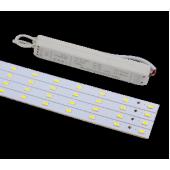 Светильник светодиодный Kit 3750лм 31Вт 4000К IP20 80Ra Кп<5
